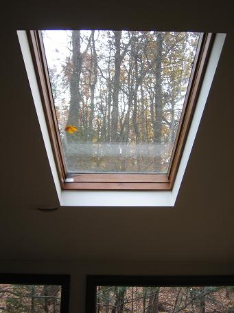 Velux skylight for Velux glass